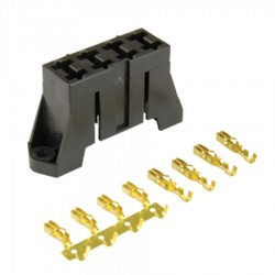 Standard Blade Fuseholder Stacking With Mounting Holes