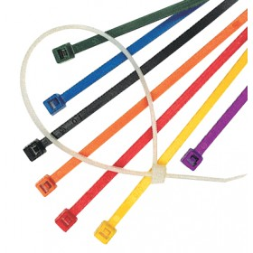 Coloured Cable Ties - Mixed Colours Canister Packs