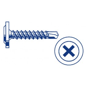 Industrial Grade Screws - Self Driller Washer Face